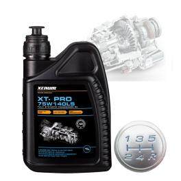 Синтетично трансмисионно масло за състезателни автомобил XENUM XT-PRO 75W140 LS