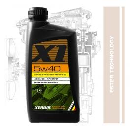Синтетично естерно хибридно моторно масло XENUM X1 5W40