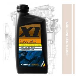 OEM GROUP A синтетично естерно хибридно моторно масло XENUM X1 5W30